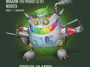 FEED ME LONDON FORUM – FRIDAY 19TH APRIL Plus support from MAXIM (THE PRODIGY) - DJ SET MONSTA