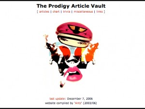 The Prodigy Article Vault