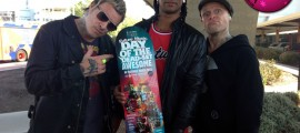 Competition! Win This Future Music Festival Board Signed By The Prodigy