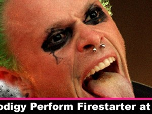 Watch The Prodigy Perform Firestarter at Pinkpop 1996