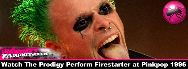 Watch The Prodigy Perform Firestarter at Pinkpop 1996 | The