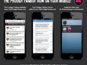 The Prodigy Fanboy Now Available On Your Mobile!