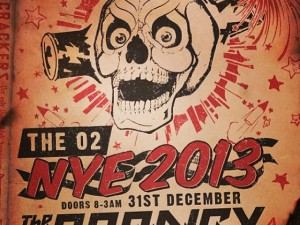 The Prodigy NYE Flyer