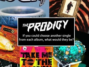 If you could choose another single from each album, what would they be?