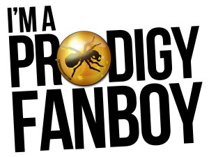 Im a Prodigy Fanboy : 5 Years Logo : Graphic Design by cosmicbadger http://cosmicbadger.co.uk/
