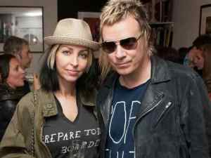 Firestarter: Liam Howlett with his wife Natalie Appleton (Picture: Simon Burchell/Getty Images)