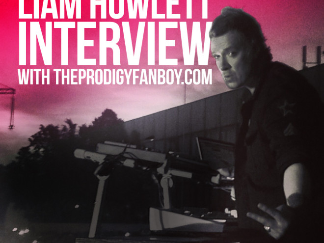 Liam Howlett Interview with The Prodigy Fanboy - Graphic Design by Brian Pope