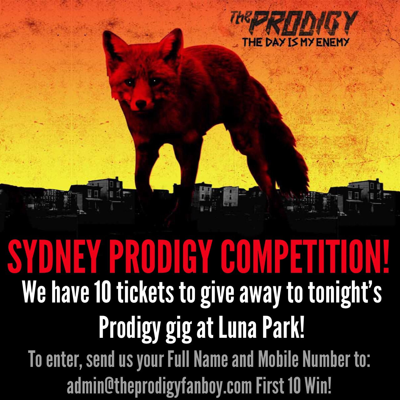 The Prodigy Luna Park Competition!