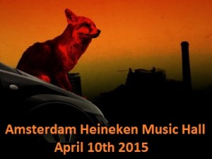 Review Amsterdam gig April 10th 2015 by The Prodigy Lady
