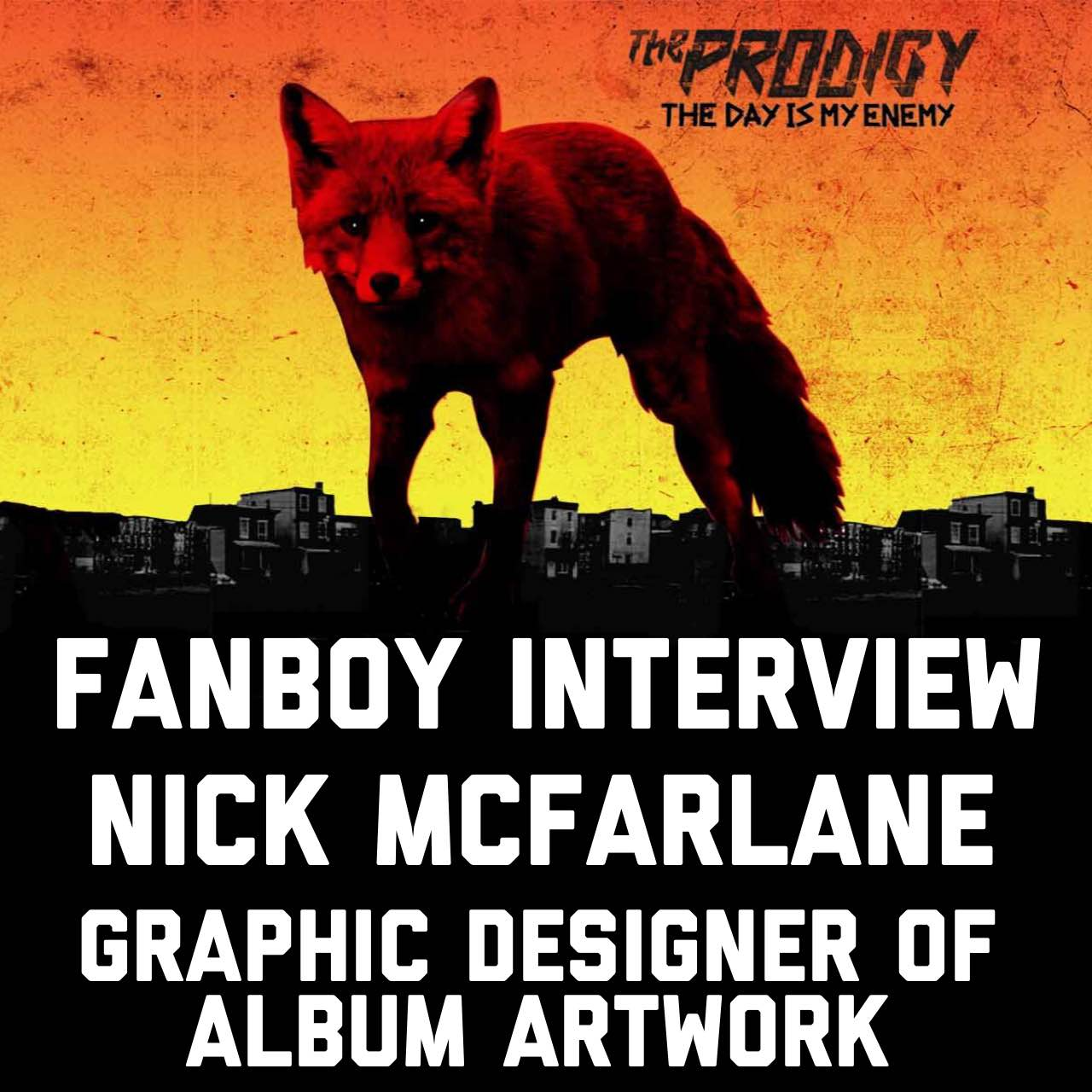 Interview with Nick McFarlane Graphic Designer of The Day Is My Enemy Album Cover