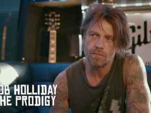 Rob Holliday Interview with Gibson Festival Check