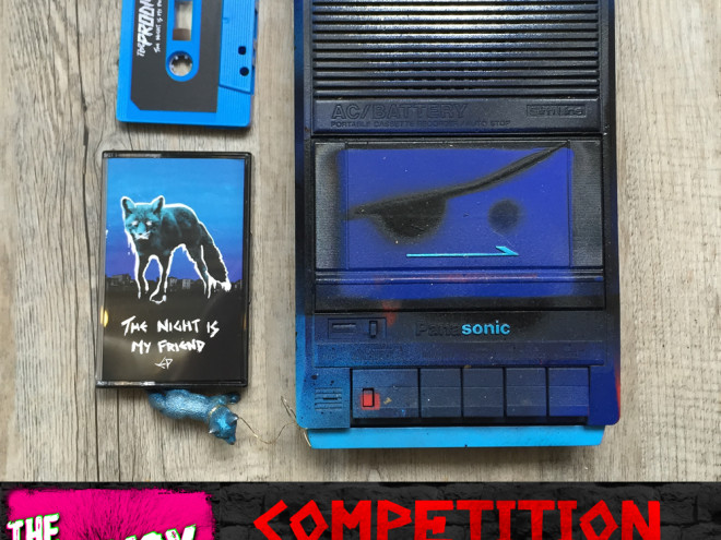 Competition! Win This Limited Edition The Prodigy Cassette Player Signed by The Band! Customised by Liam Howlett.