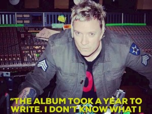 """THE ALBUM TOOK A YEAR TO WRITE. I DON'T KNOW WHAT I WAS DOING FOR THE OTHER FIVE. I CAN'T REMEMBER."" Liam Howlett"