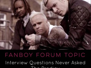 "Interview questions never asked ""The Prodigy"""