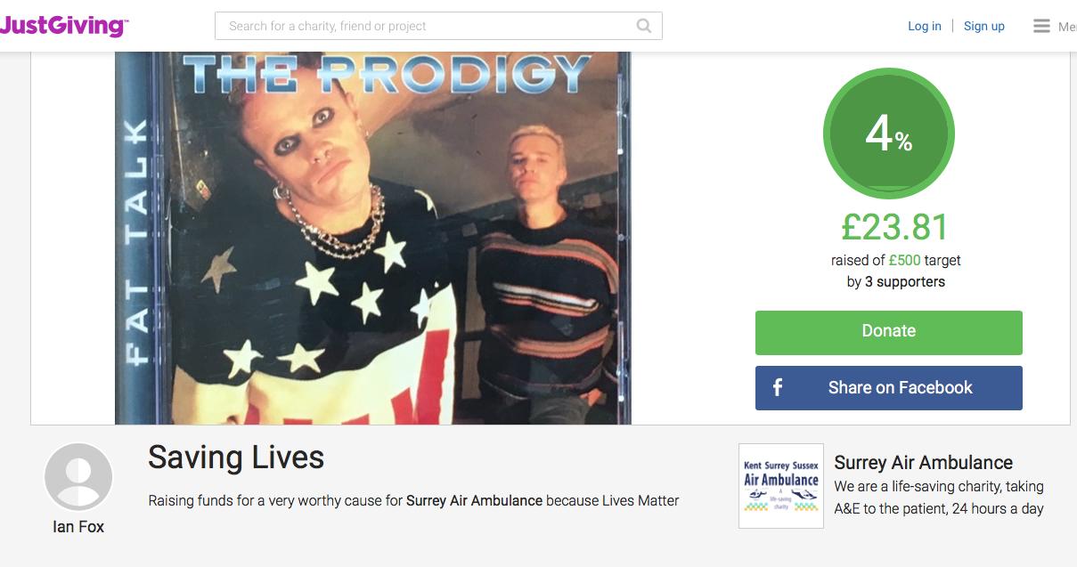 Community - The Prodigy Fund Raiser - Saving Lives