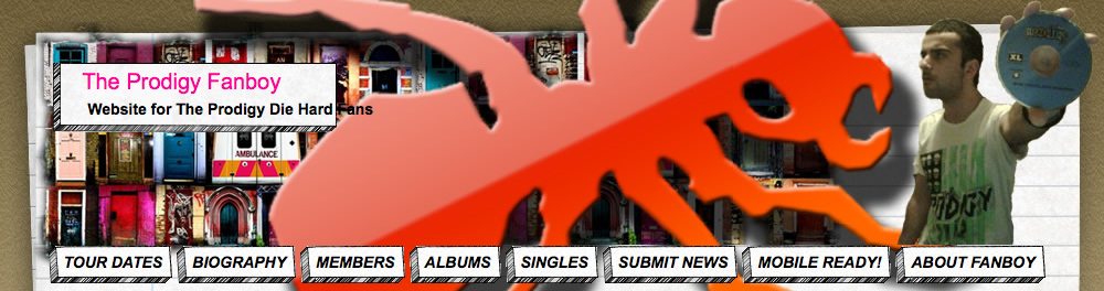 The Prodigy Fanboy Banner